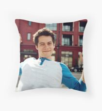 Dylan O'Brien Throw Pillow