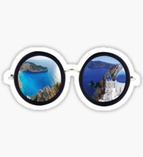 Greece Sunglasses Sticker