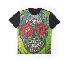 SugarArt Skull streetart graffiti Graphic T-Shirt