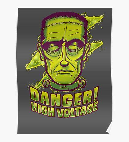 Classic Halloween: Frankenstein's Monster Poster
