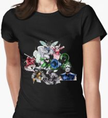 Kid Chameleon - All Transformations Women's Fitted T-Shirt