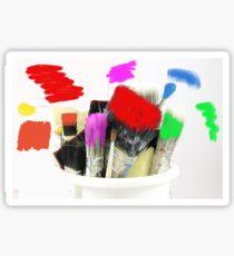 Pot of Many Colours Sticker