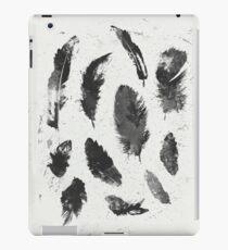 Feathers BW iPad Case/Skin