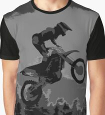 """""""The Scenic View"""" Motocross Racer  Graphic T-Shirt"""
