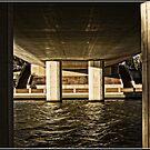 Under the bridge in Tuggeranong/ACT by Wolf Sverak