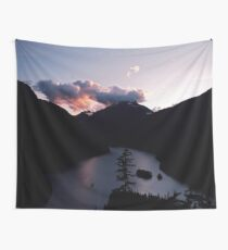Purple Sunset at Diablo Lake Wall Tapestry