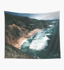 Big Sur Surf and Coastline  Wall Tapestry