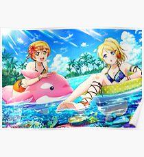 Pool Eli Ayase (Idolized) Poster