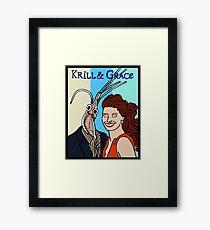 Krill & Grace Framed Print