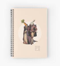 Carrotella Spiral Notebook