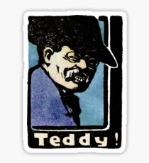 1902 Teddy Roosevelt  Sticker