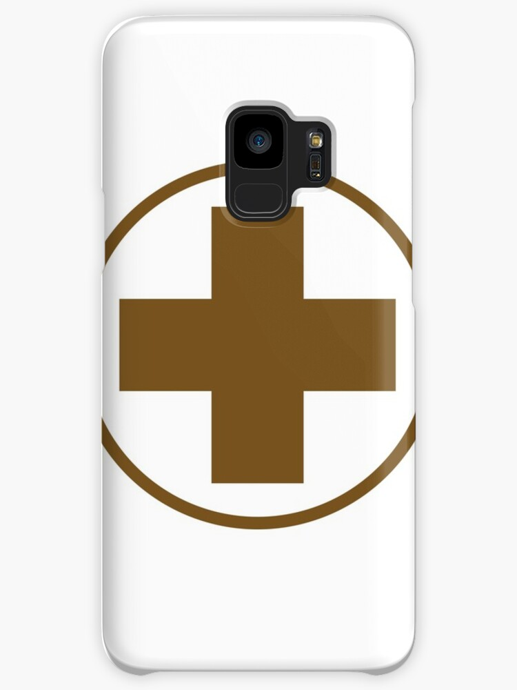 Tf2 Medic Logo Cases Skins For Samsung Galaxy By Al Kindi Redbubble