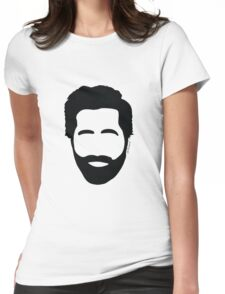 Jake Gyllenhaal beard Womens Fitted T-Shirt