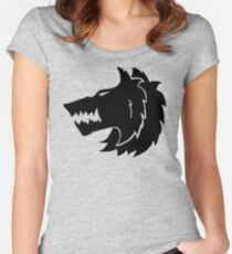 Frost Wolf Women's Fitted Scoop T-Shirt