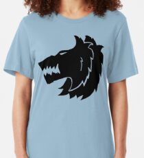 Frost Wolf Slim Fit T-Shirt