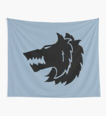 Frost Wolf Wall Tapestry