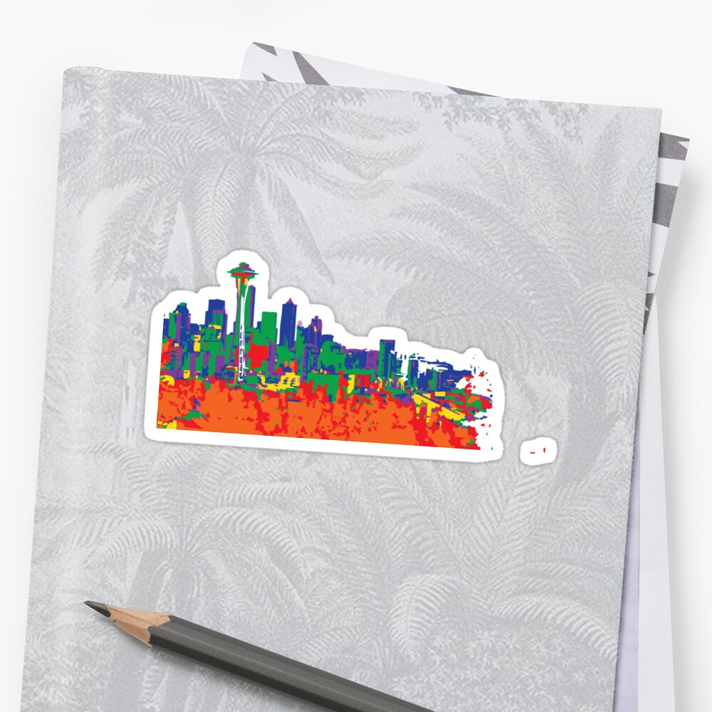 Paint the Town Sticker