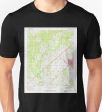 USGS TOPO Map Arkansas AR Prescott West 259456 1970 24000 T-Shirt
