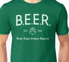 Beer. Brew. Enjoy. Empty Repeat Unisex T-Shirt