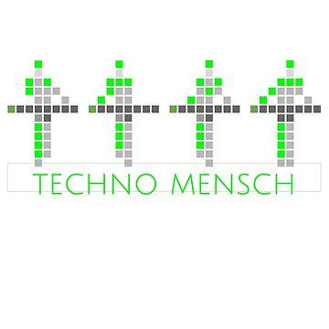PIXEL8 | Techno Mensch | Glow by 8eye