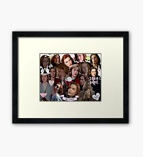 Queen Scully Framed Print