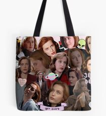 Queen Scully Tote Bag