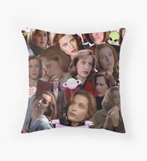 Queen Scully Throw Pillow