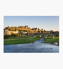 View of Carcassonne Photographic Print