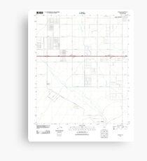 USGS TOPO Map Arizona AZ Chuichu 20111026 TM Metal Print