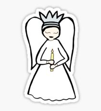 Candle Angel Sticker