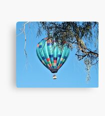 Balloon Over Havasu Canvas Print