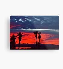 New Year Sunset Metal Print