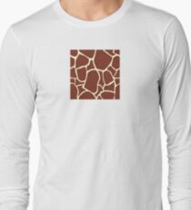 Giraffe seamless pattern texture. Giraffe background animal skin T-Shirt