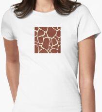Giraffe seamless pattern texture. Giraffe background animal skin T-Shirt