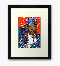 90s Style Fresh Prince  Framed Print