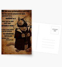 Bane's Cat Rises! Postcards