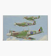 Spitfire MK.X11's Photographic Print