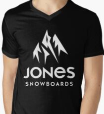jones snowboards apparel Mens V-Neck T-Shirt