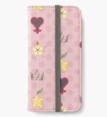 KH Destiny Trio Pattern - Pink iPhone Wallet/Case/Skin