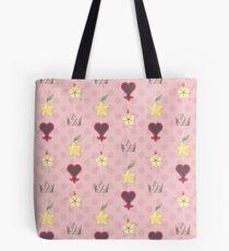 KH Schicksal Trio Muster - Pink Tote Bag