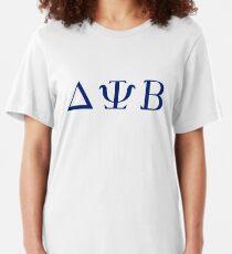 Camiseta ajustada Delta Psi Beta