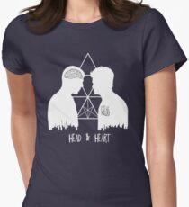 Kirk/Spock - Head/Heart  //on dark colours// T-Shirt