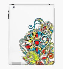Abstract vector floral and ornamental item background iPad Case/Skin