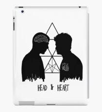 Kirk/Spock - Head/Heart //on light colours// iPad Case/Skin