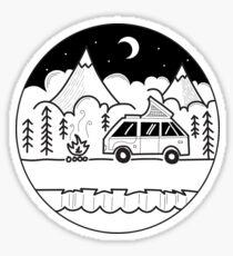 Camper Van Life Sticker