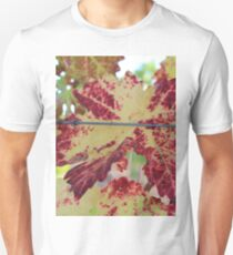 Colorful grape leaf T-Shirt