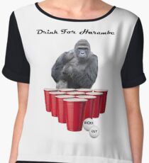 Drink for Harambe Chiffon Top