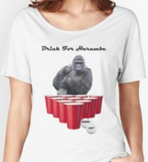 Drink for Harambe Women's Relaxed Fit T-Shirt