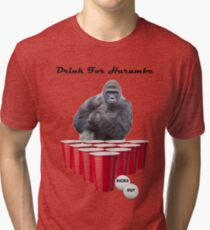 Drink for Harambe Tri-blend T-Shirt