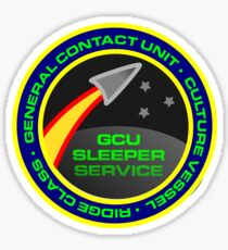 GCU 'Sleeper Service' Mission Patch Sticker